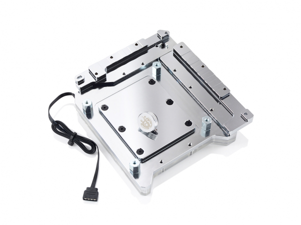 Bitspower  Monoblock Arm10a Rgb-nickel Compatible With Asus R ( Bp-wbmarm10a )