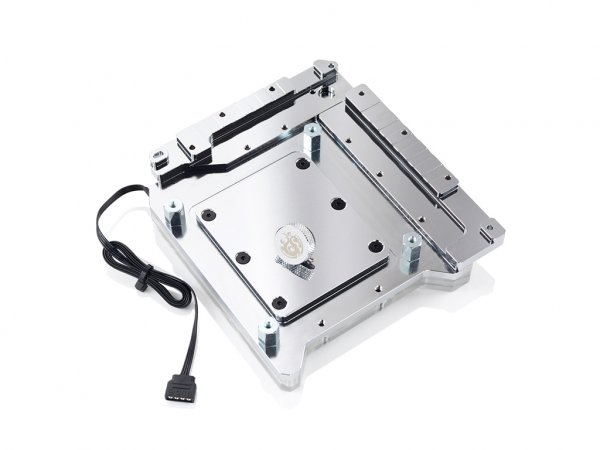 Bitspower  Monoblock Arm10a Rgb-nickel Compatible With Asus R ( Bp-wbmarm10a )