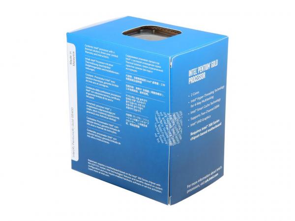 Intel Pentium Coffee Lake Processor G5400 (4m Cache 3.7ghz) Lga1151 ( Bx80684g5400 )