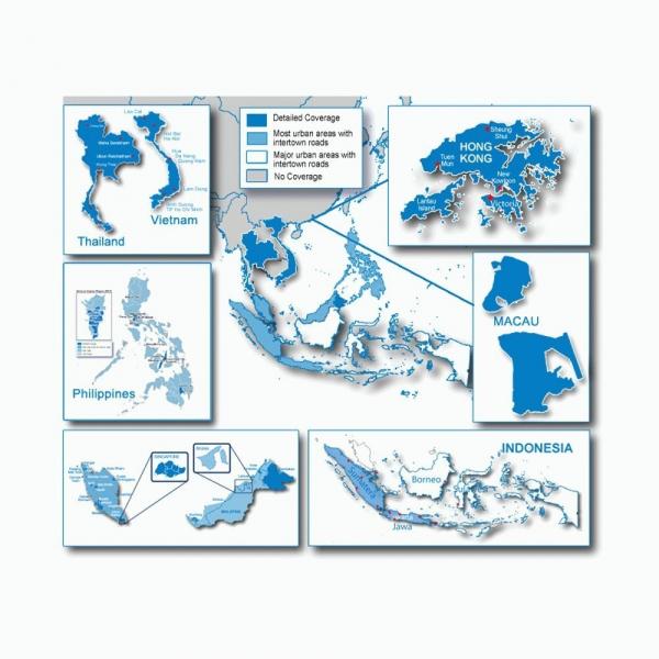 GARMIN City Navigator Southeast Asia NT - Maps (010-11652-00)