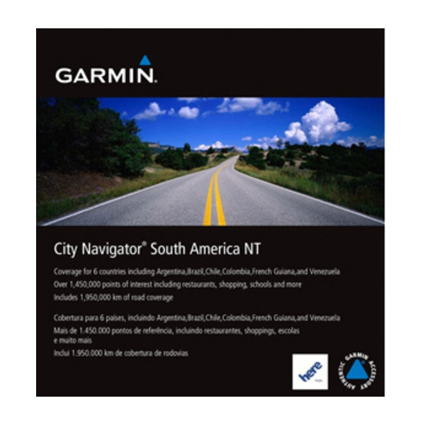 GARMIN City Navigator South America NT - MicroSD Card (010-11752-00)