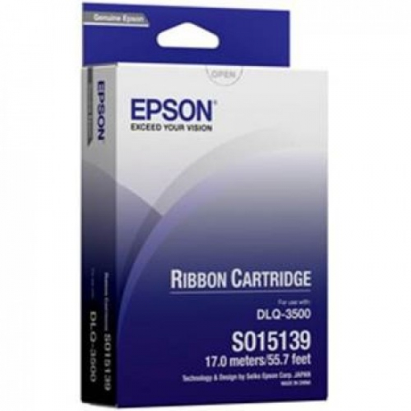 EPSON Sidm Black Ribbon Cartridge For C13S015139