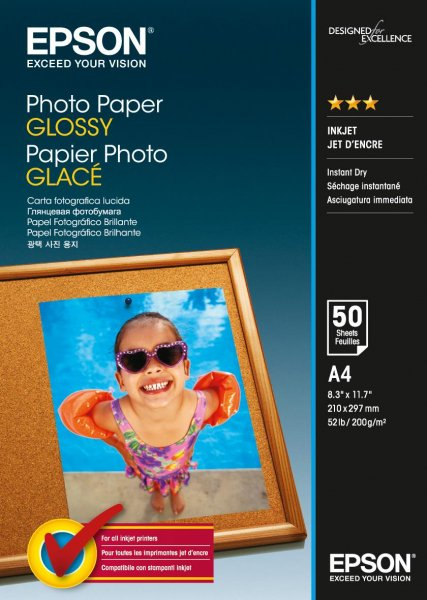EPSON Photo Paper Glossy A4 50 C13S042539