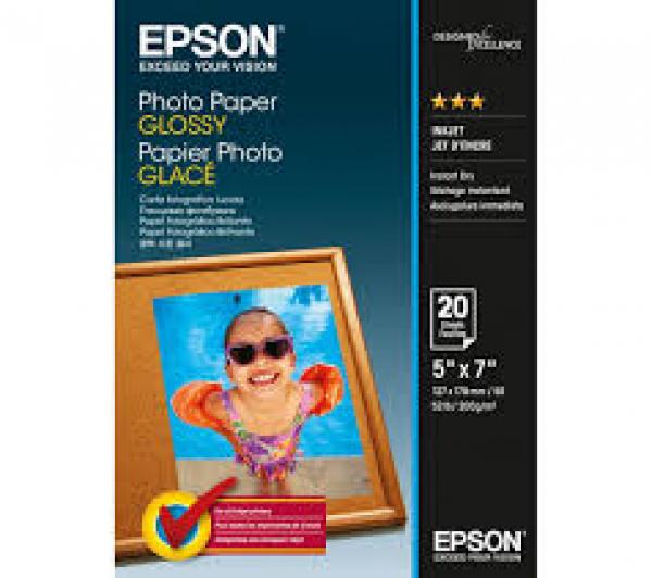 EPSON Photo Paper Glossy 5x7 20 C13S042544