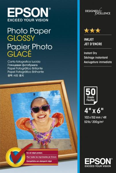 EPSON Photo Paper Glossy 4x6 50 C13S042547