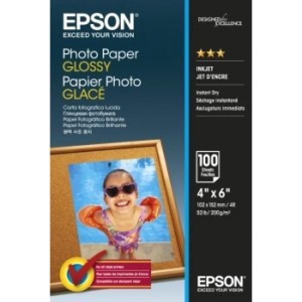 EPSON Photo Paper Glossy 4x6 100 C13S042548