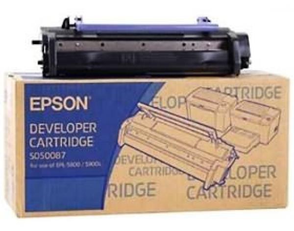 EPSON Blk Dev Cart C13S050087