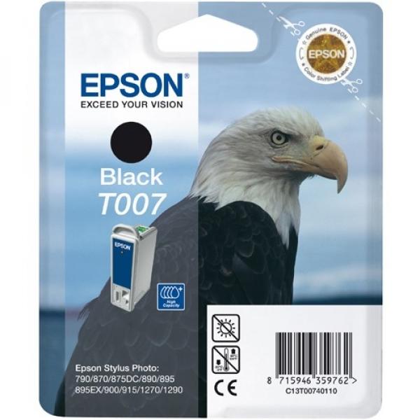 EPSON Blk Cart C13T007091