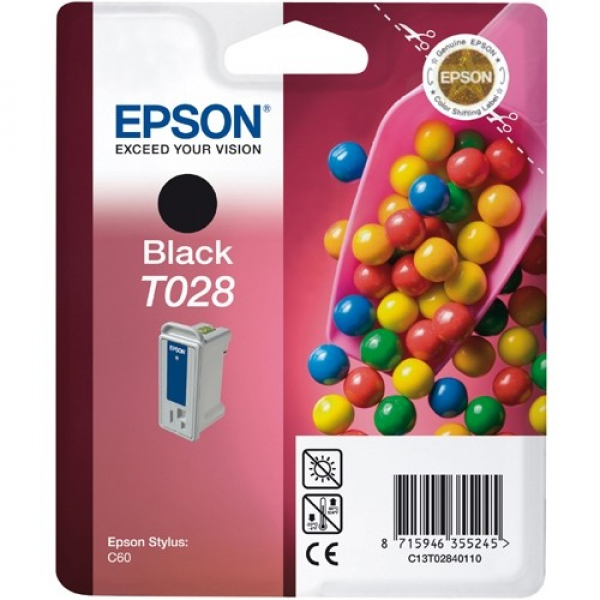 EPSON Blk Cart C13T028091
