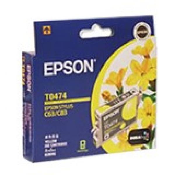 EPSON Yellow:c63/c65/c83/cx3500 C13T047490