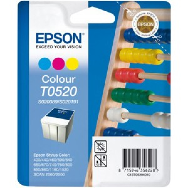 EPSON Clr Cart For 1160 C13T052090