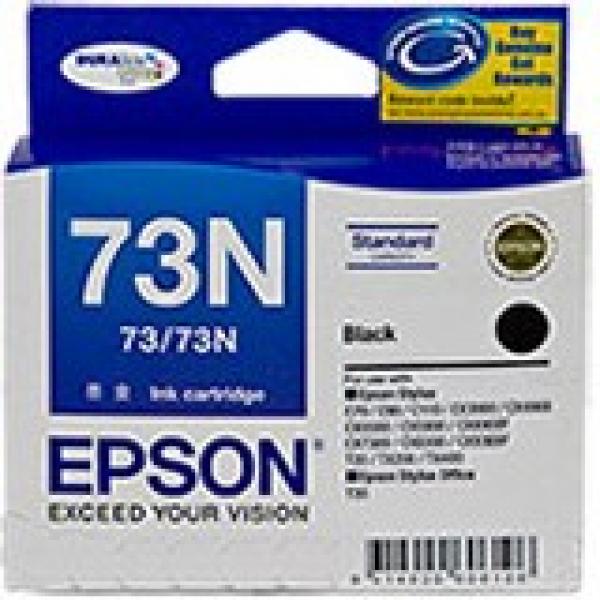 EPSON Black 73/73n Ink Cartridge C13T105192