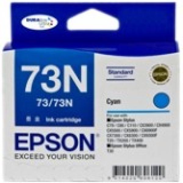 EPSON Cyan 73/73n Ink Cartridge C13T105292