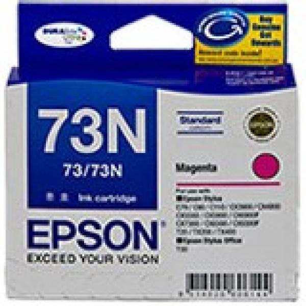 EPSON Magenta 73/73n Ink Cartridge C13T105392