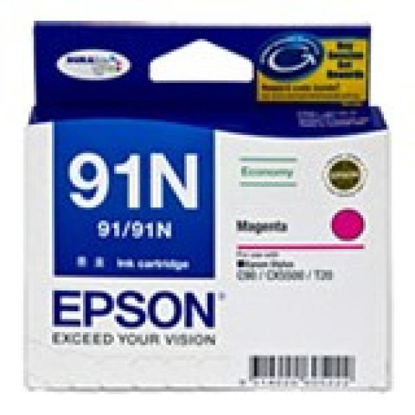 EPSON Magenta 91/91n Low Cost Stylus C90 Cx5500 C13T107392