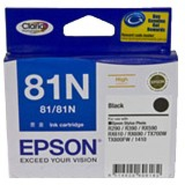 EPSON Black 81/81n High Yield Ink C13T111192