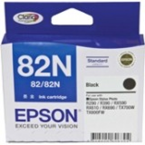 EPSON Black Ink 82/82n Std Yield R290 390 590 C13T112192