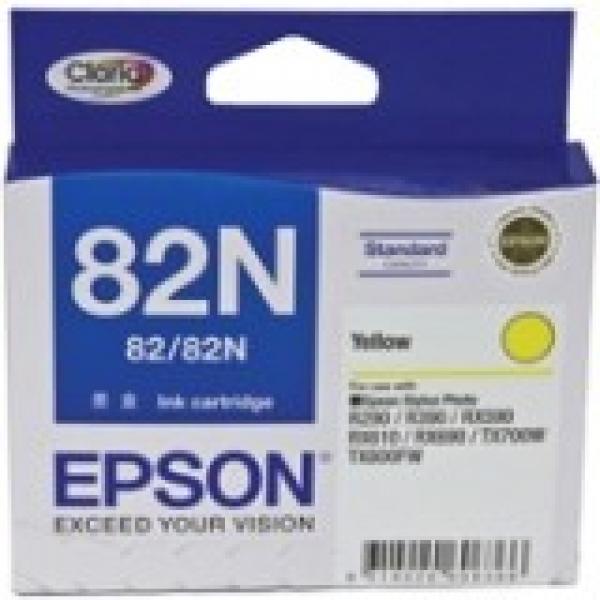 EPSON Yellow Ink 82/82n Std Yield Stylus Photo C13T112492