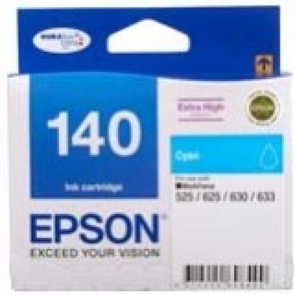 EPSON 140 Extra High Capacity Cyan Ink Cart C13T140292