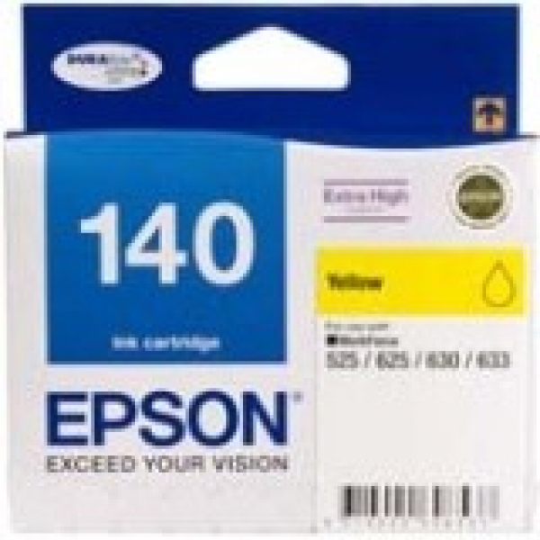 EPSON 140 Extra High Capacity Yellow Ink Cart C13T140492