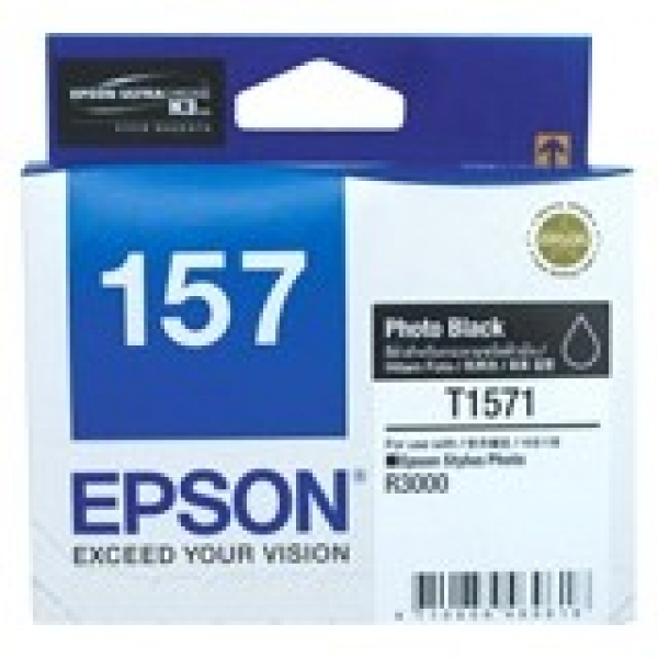 EPSON 157 Photo Black Ink Cartridge For Stylus C13T157190