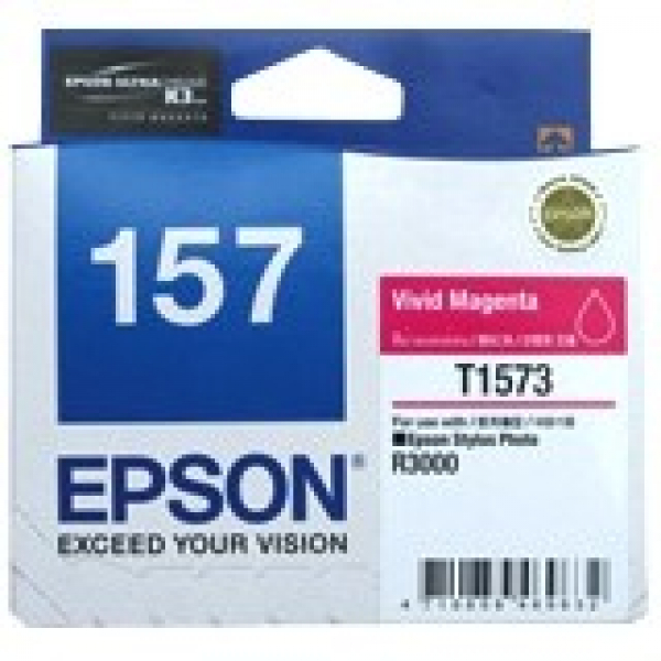 EPSON 157 Vivid Magenta Ink Cartridge For C13T157390