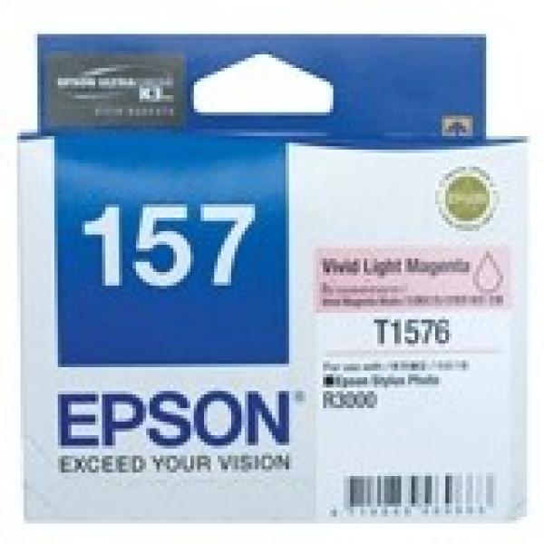 EPSON 157 Vivid Light Magenta Ink Cartridge For C13T157690