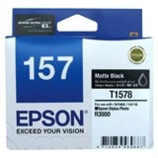 EPSON 157 Matte Black Ink Cartridge For Stylus C13T157890