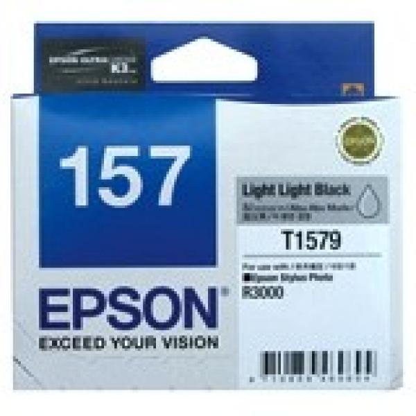 EPSON 157 Light Light Black Ink Cartridge For C13T157990