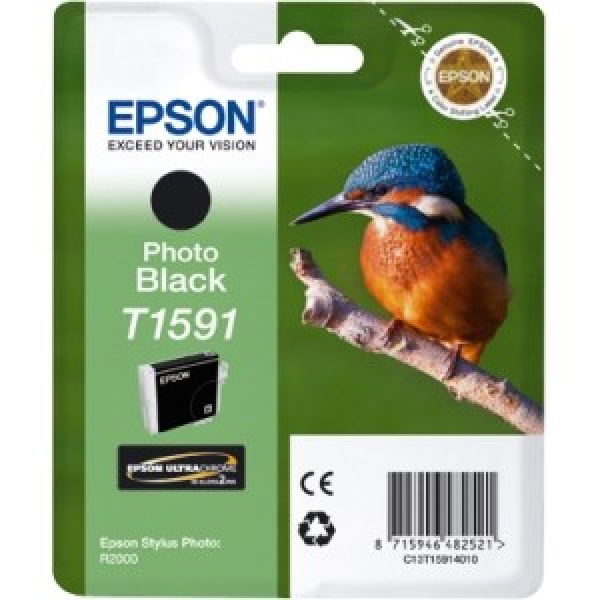 EPSON 159 Photo Black Ink Cartridge For Stylus C13T159190