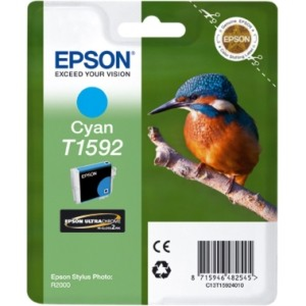 EPSON 159 Cyan Ink Cartridge For Stylus Photo C13T159290