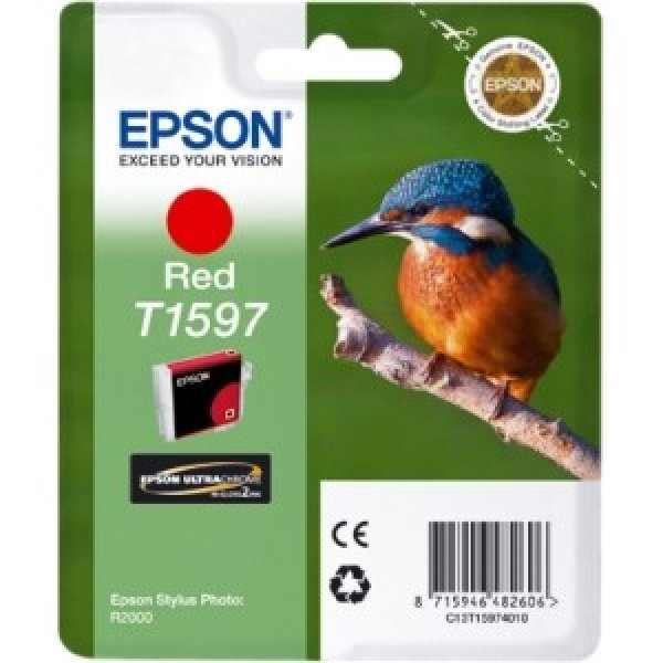 EPSON 159 Red Ink Cartridge For Stylus Photo C13T159790