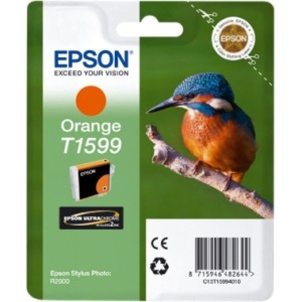 EPSON 159 Orange Ink Cartridge For Stylus Photo C13T159990