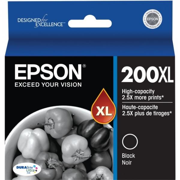EPSON 200xl High Capacity Durabrite Ultra Black C13T201192