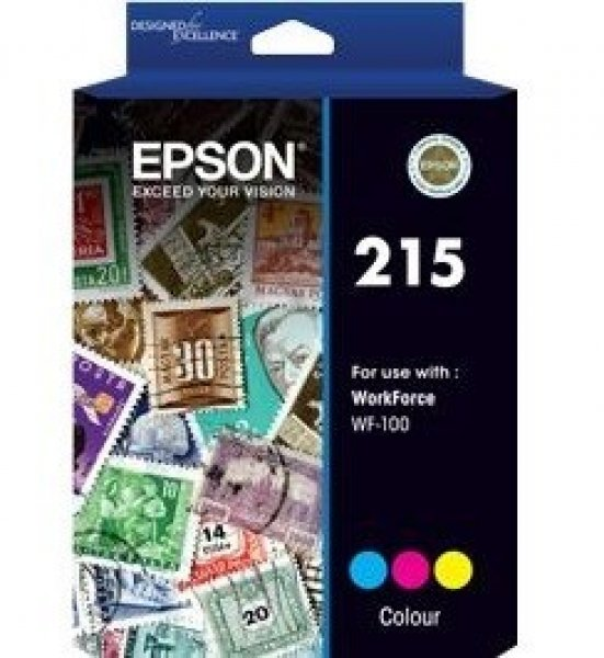 EPSON 215 Pigment Colour Ink For Workforce C13T216092
