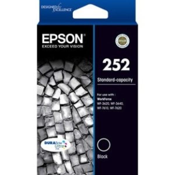 EPSON 252 Std Capacity Durabrite Ultra Black C13T252192