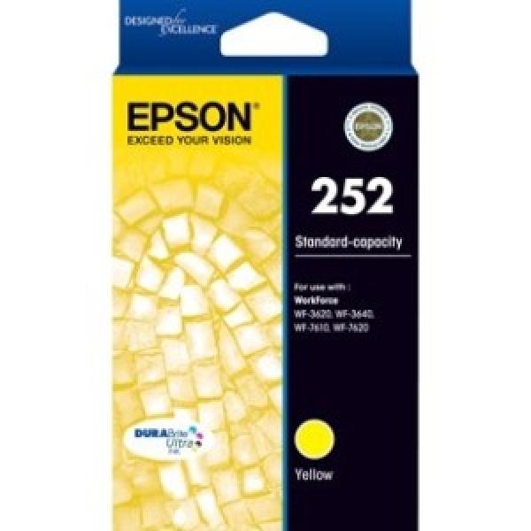 EPSON 252 Std Capacity Durabrite Ultra Yellow C13T252492