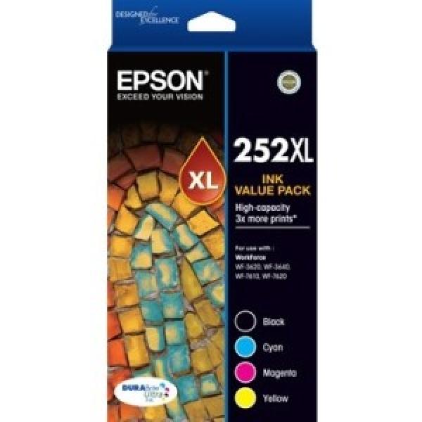 EPSON 252xl Vp High Cap Durabrite Ultra 4 Ink C13T253692