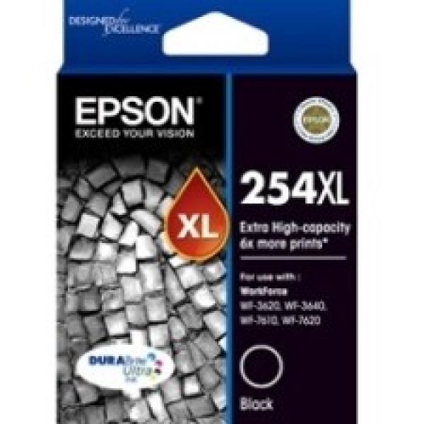 EPSON 254xl Extra High Capacity Durabrite Ultra C13T254192