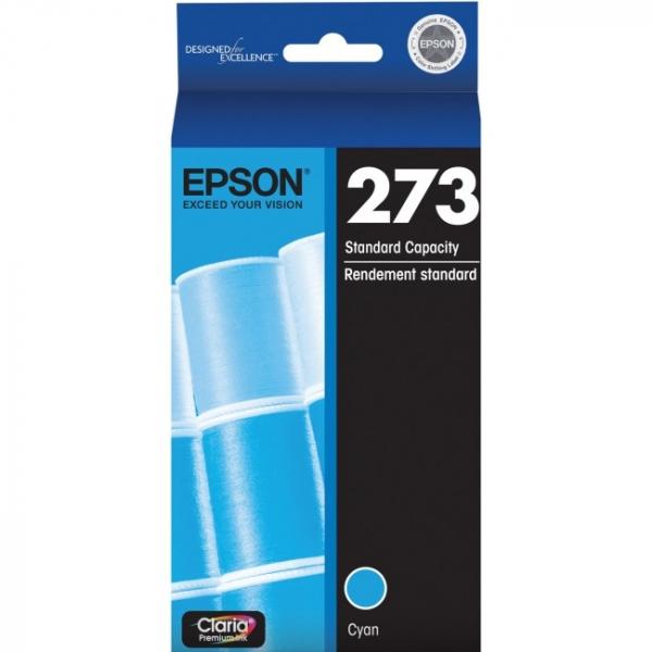 EPSON 273 Std Capacity Claria Premium Cyan Ink C13T273292