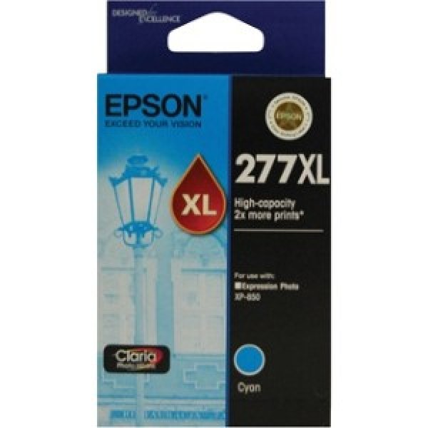 EPSON 277xl Claria Photo Hd Cyan Ink C13T278292