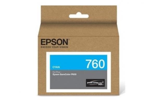 EPSON Ultrachrome Hd Ink Surecolor Cs-p600 Cyan C13T760200