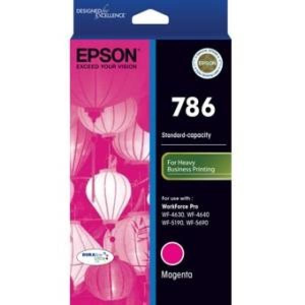 EPSON 786 Magenta Ink Cart For Workforce Pro C13T786392