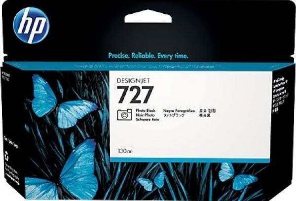 HP  727 300-ml Matte Black Ink C1Q12A