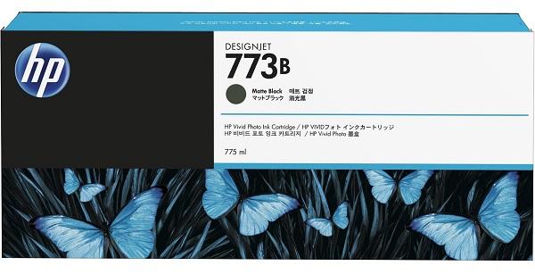 Hp 773b 775ml Matte Black Ink Cart ( C1q29a )