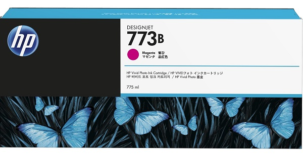 Hp 773b 775ml Magenta Ink Cart ( C1q31a )