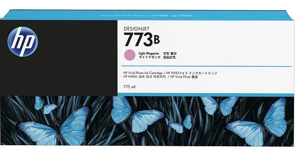 Hp 773b 775ml Lt Magenta Ink Cart ( C1q33a )