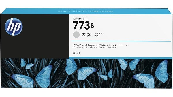 Hp 773b 775ml Light Grey Ink Cart ( C1q36a )