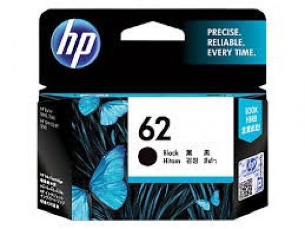 HP  62 Black Ink C2P04AA