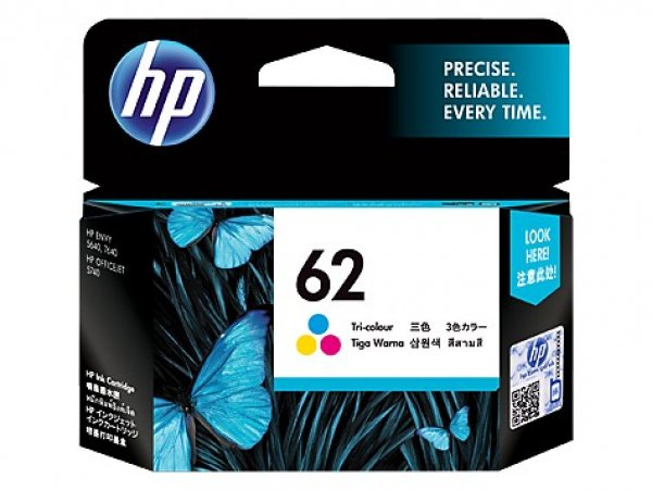 HP  62 Tri-color Ink C2P06AA